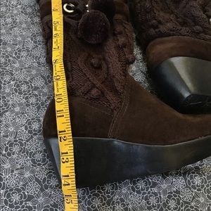 Report Shoes - REPORT Platform Winter Brown Boots